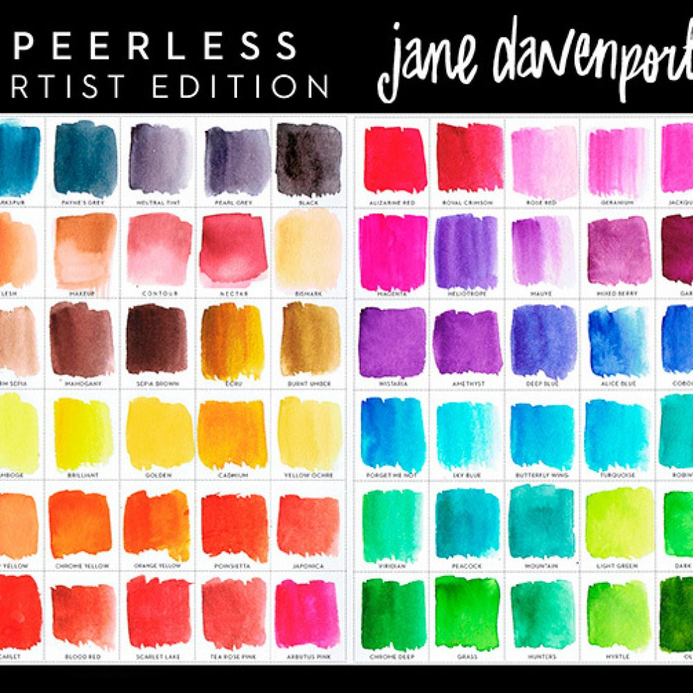 Jane Davenport Peerless Watercolors