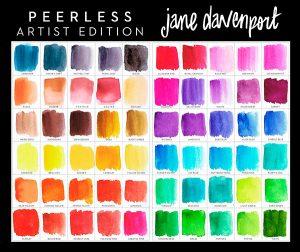 Jane Davenport Peerless Watercolors
