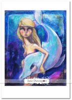 Mermaid Prints by Jane Davenport