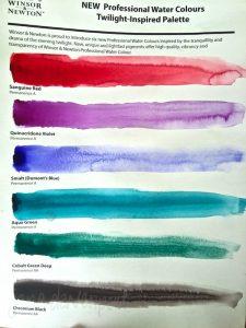 Winsor & Newton Twilight Colours