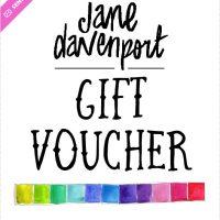 Jane Davenport Gift Voucher
