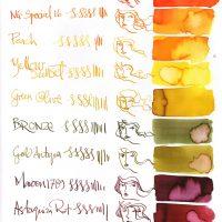 Robert Oster Inks – Long Summer colours